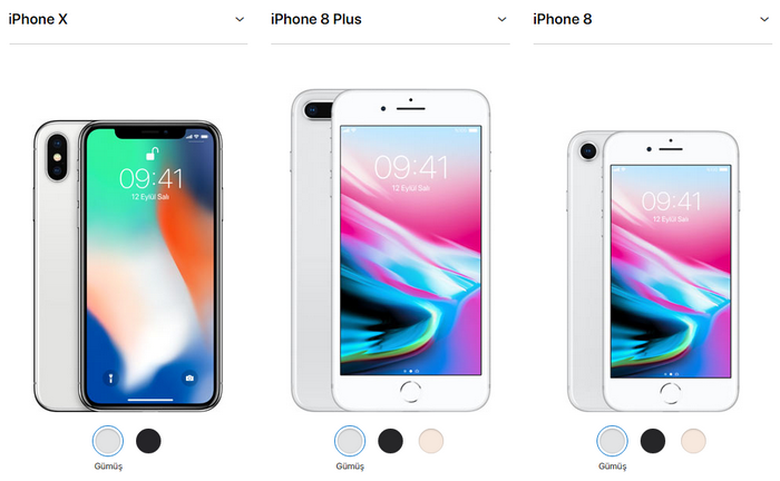 iphonex iphone8plus iphone8 iPhone 8 'yalan', iPhone X ise 'sürpriz oldu!